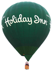holiday inn hot air balloon