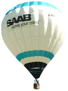 saab hot air balloon